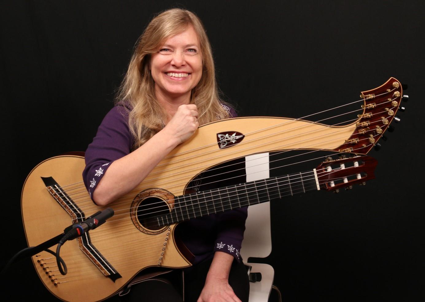 Muriel ANDERSON in concerto al SIX BARS JAIL di Firenze 27.5.16