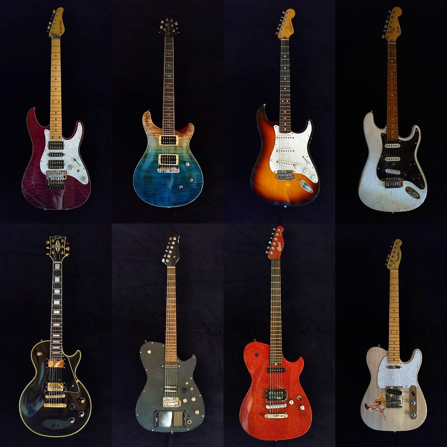 Tutte le mie chitarre