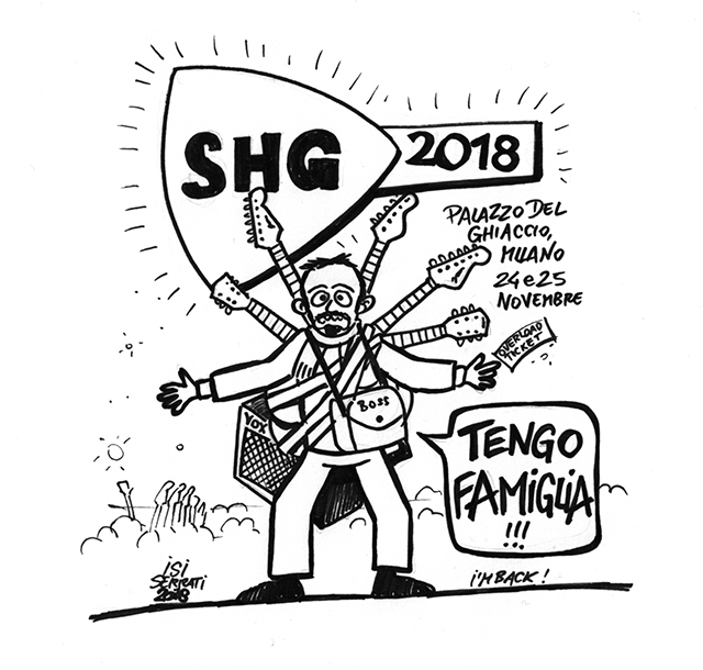 Guitar Comics, il ritorno: SHG2018