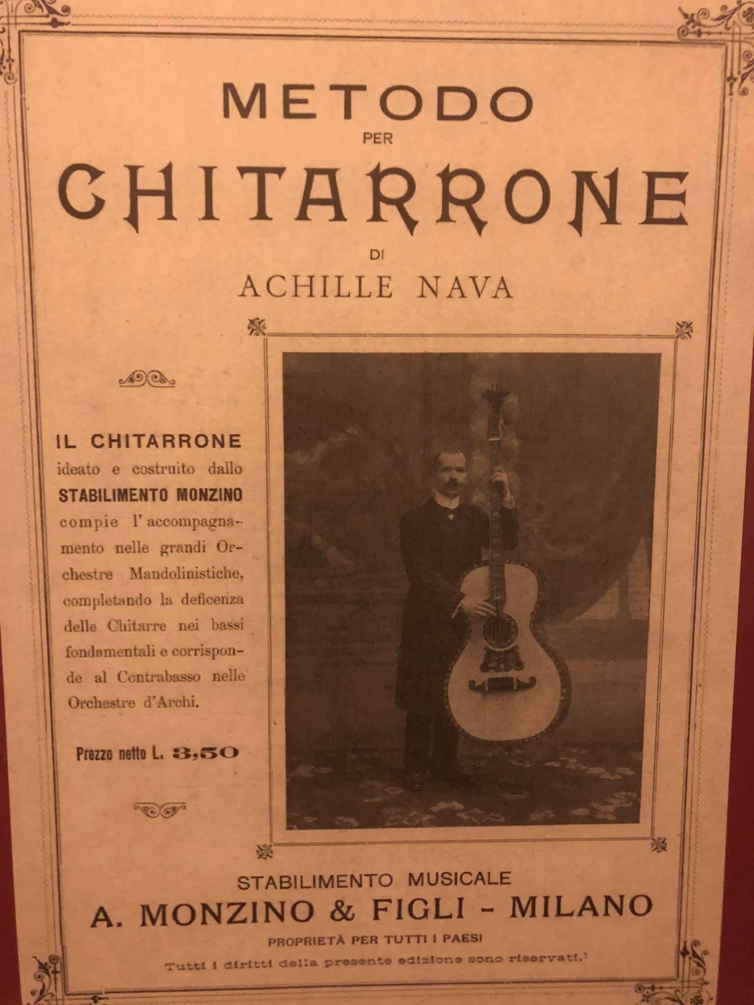 Il Chitarrone by Monzino