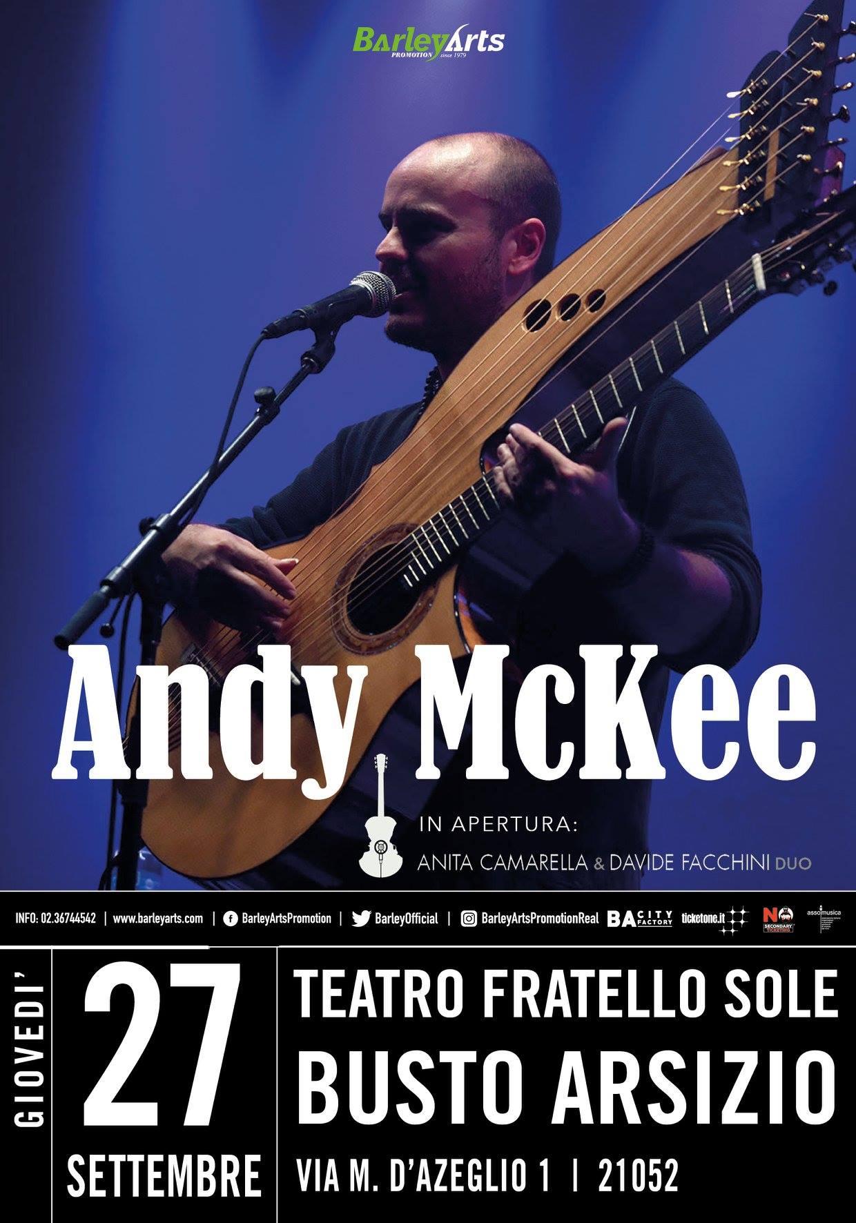 Andy Mckee, Anita Camarella Davide Facchini