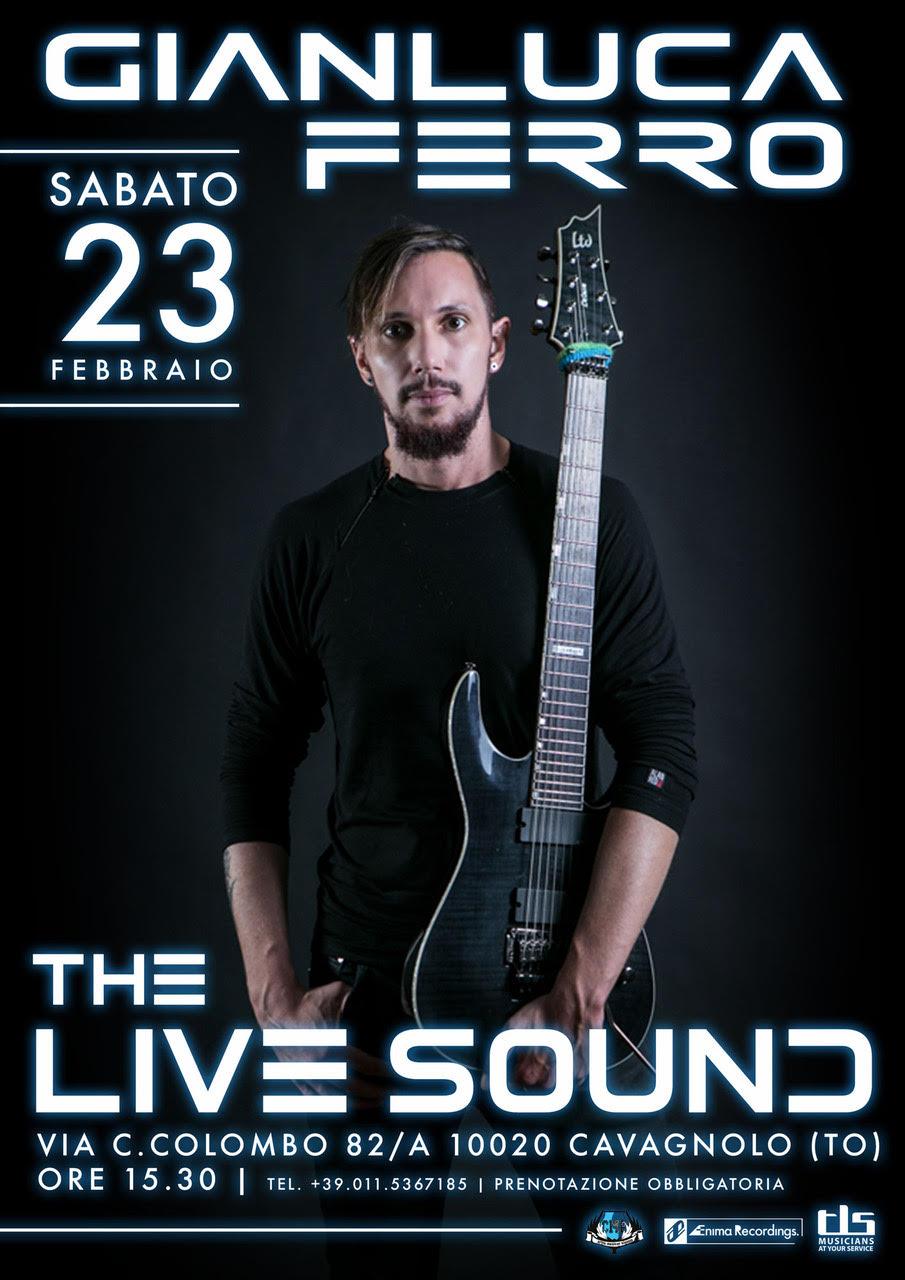 Clinic Gianluca Ferro presso The Live Sound (TO)