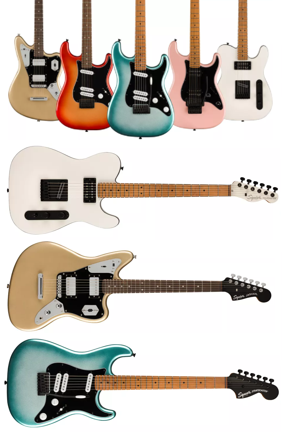 Nuove Squier Contemporary