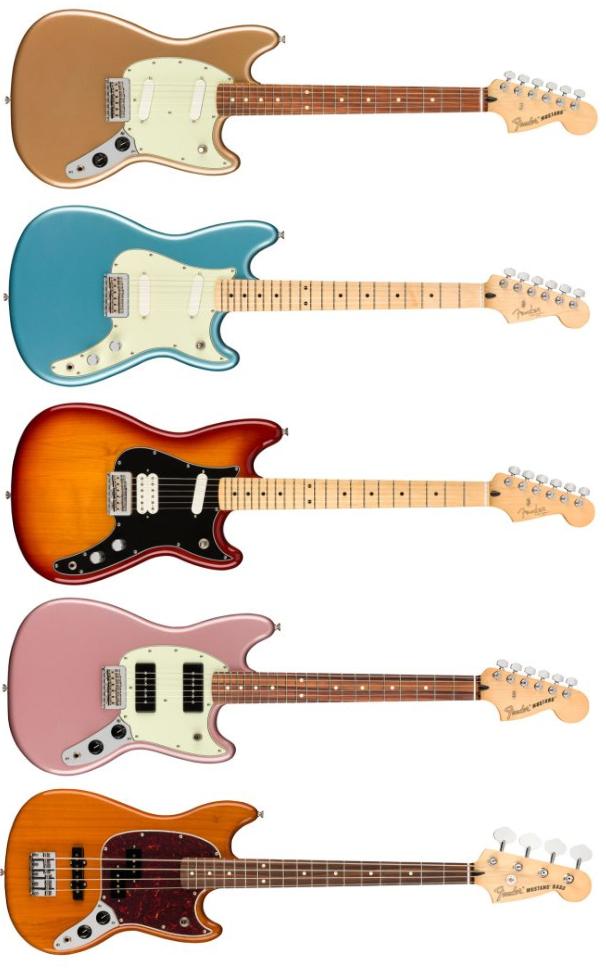Nuove Fender Player a scala corta