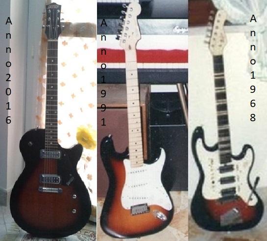 Mia evoluzione come chitarra solista!