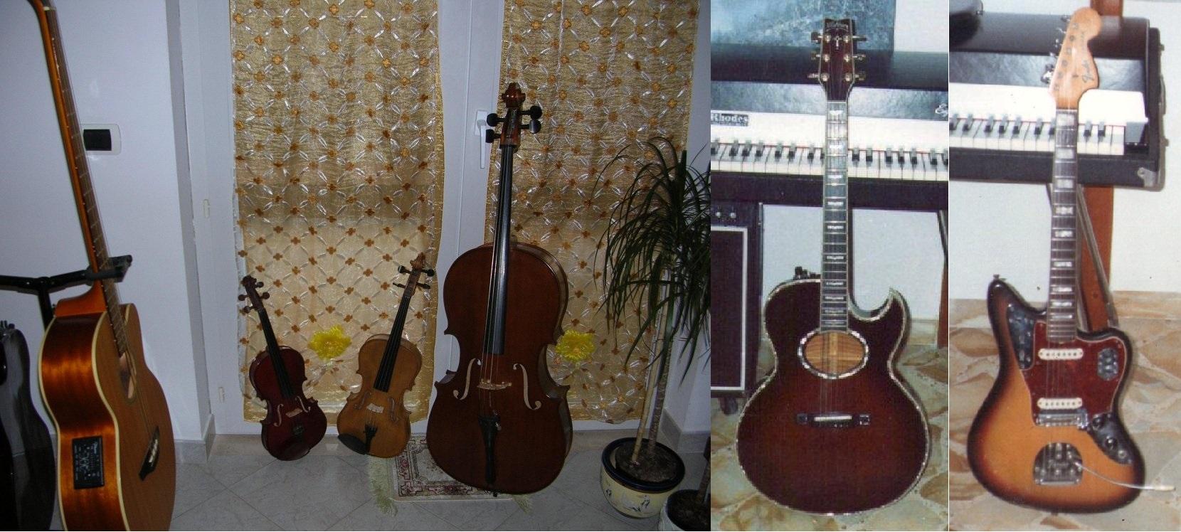 Strumenti accordati per quinte e strumenti accordati per quarte.