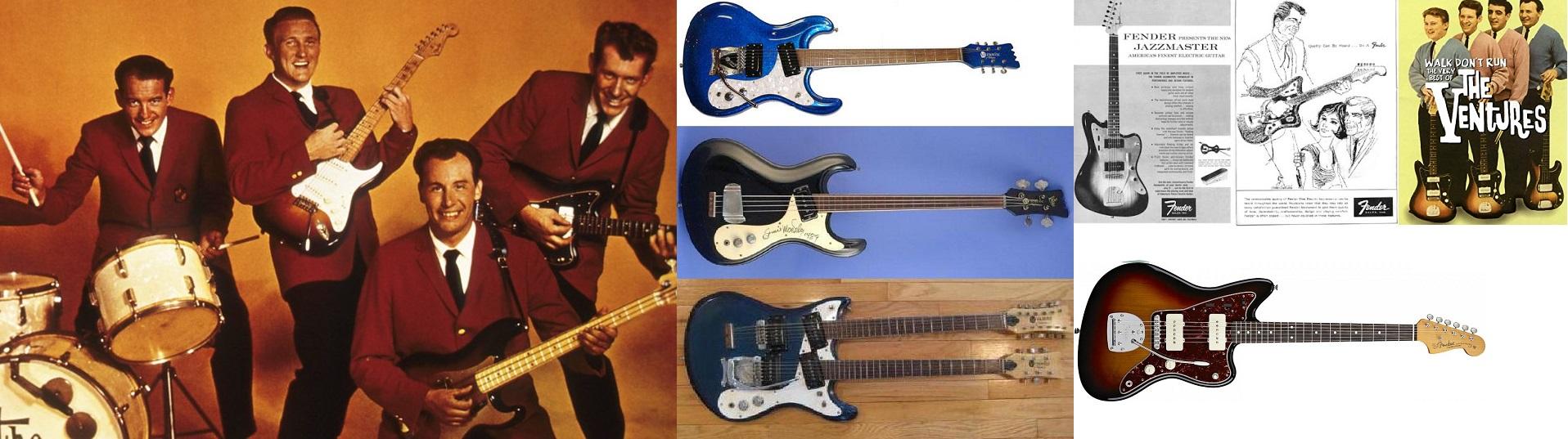 The Ventures e la Fender Jazzmaster.