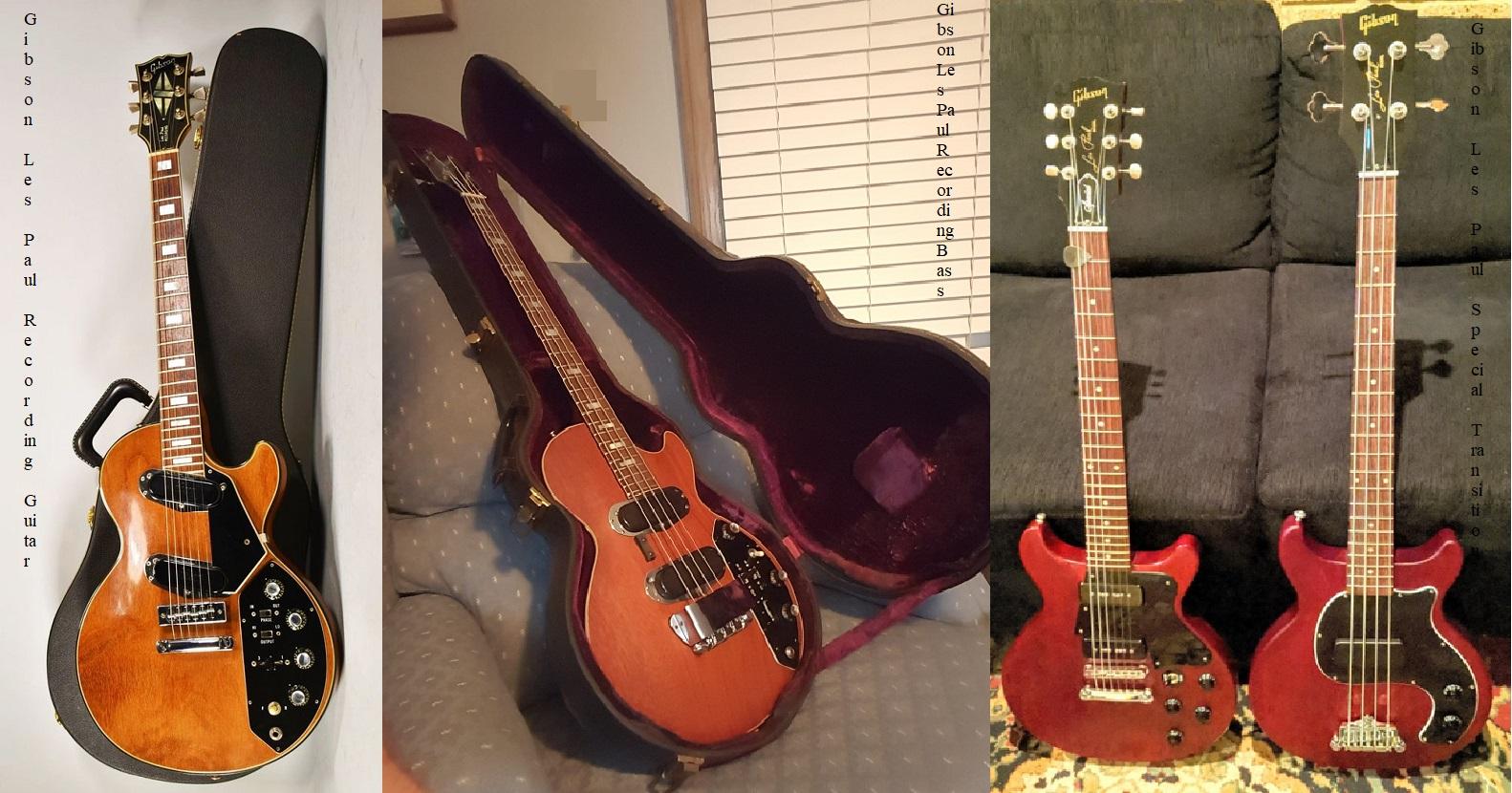 Le Gibson che si sono viste poco o niente dalle nostre parti!