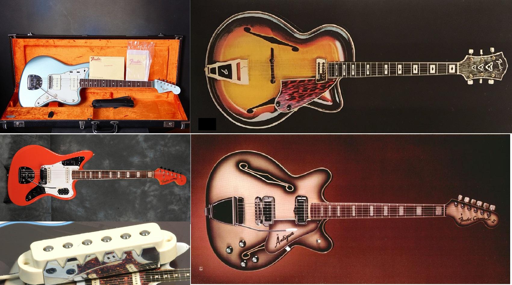 Le chitarre Fender da Jazz!