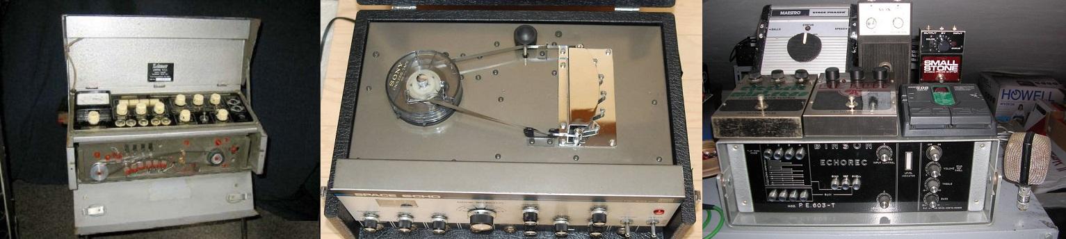 Volete mettere, un echo realizzato con le testine magnetiche ed i delay attuali!