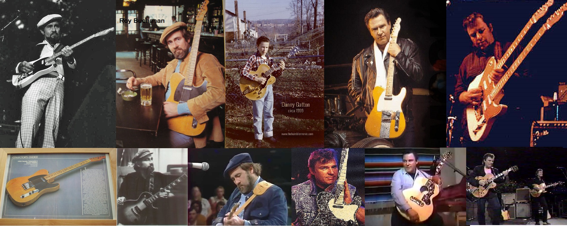 La Fender Telecaster ed i Telemaster.
