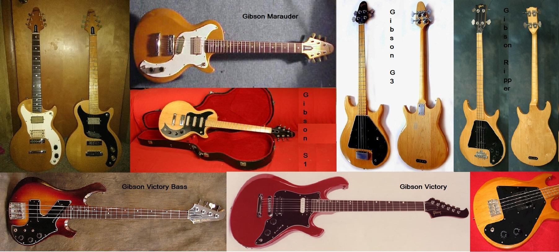 Le Gibson Solid Body periodo Norlin
