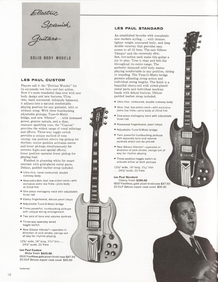 """La Gibson SG Custom White e la sua """"Profetessa""""!"""
