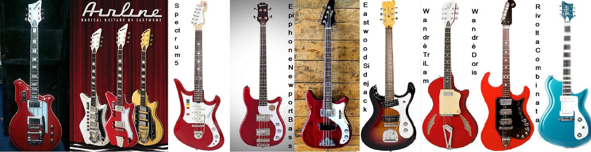 Eastwood, una Brand dedicata alle riproduzioni di strumenti famosi.