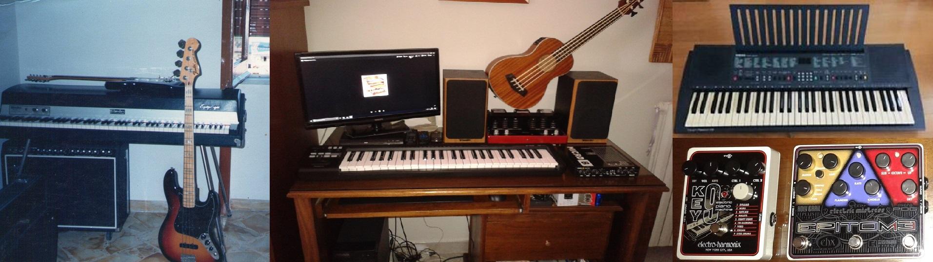 Forse è più facile che un pianista passi a suonare la chitarra che viceversa, o mi sbaglio?