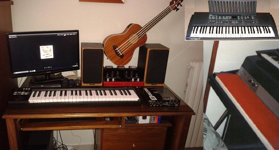 Il fascino delle tastiere.