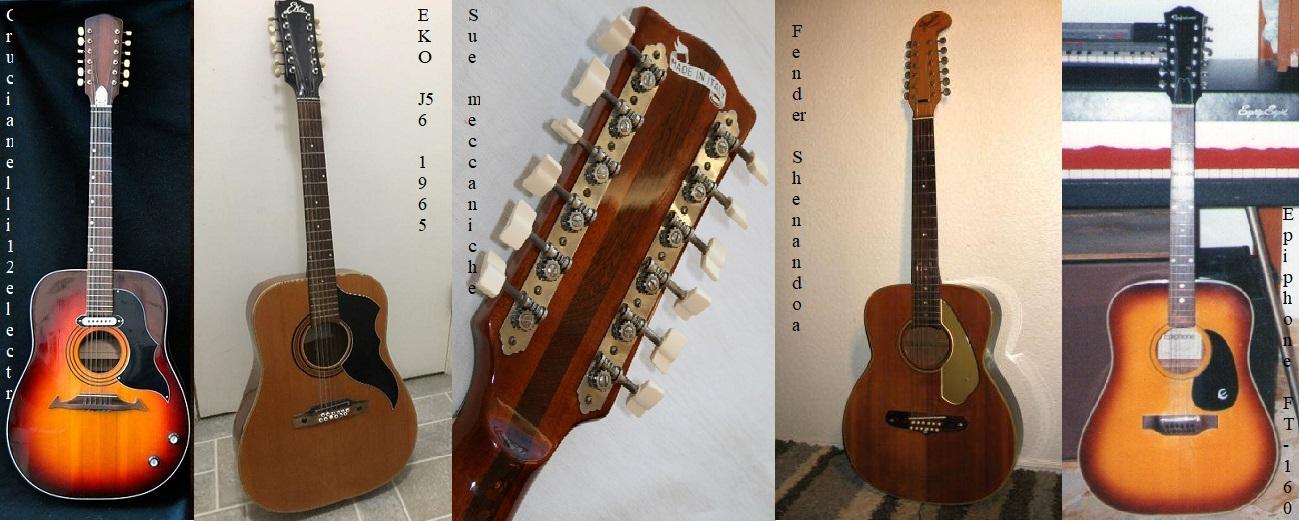 Io e l'approccio con la chitarra a 12 corde ... tardivo però!