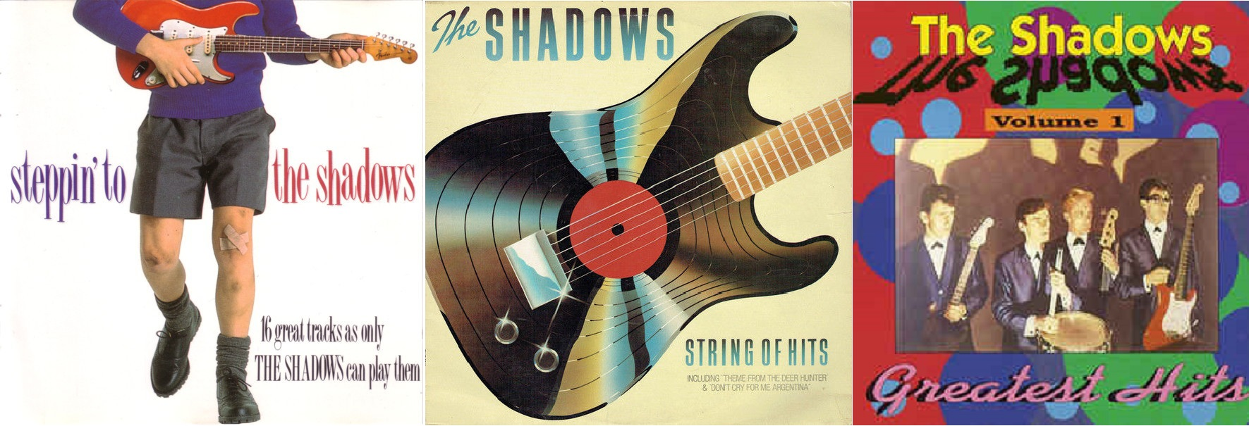La produzione discografica degli The Shadows.