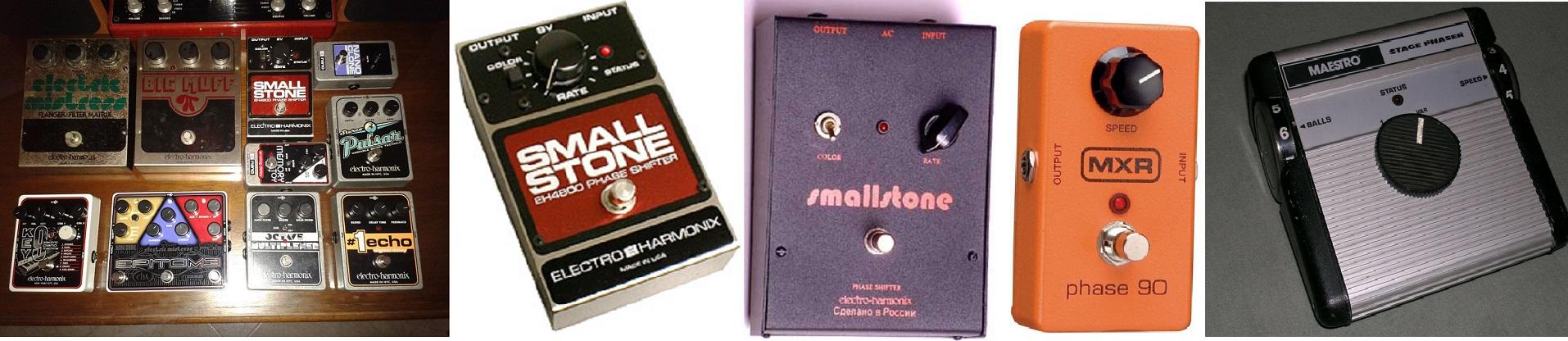 Il Phaser, un pedale diverso che scoprimmo negli anni 70!