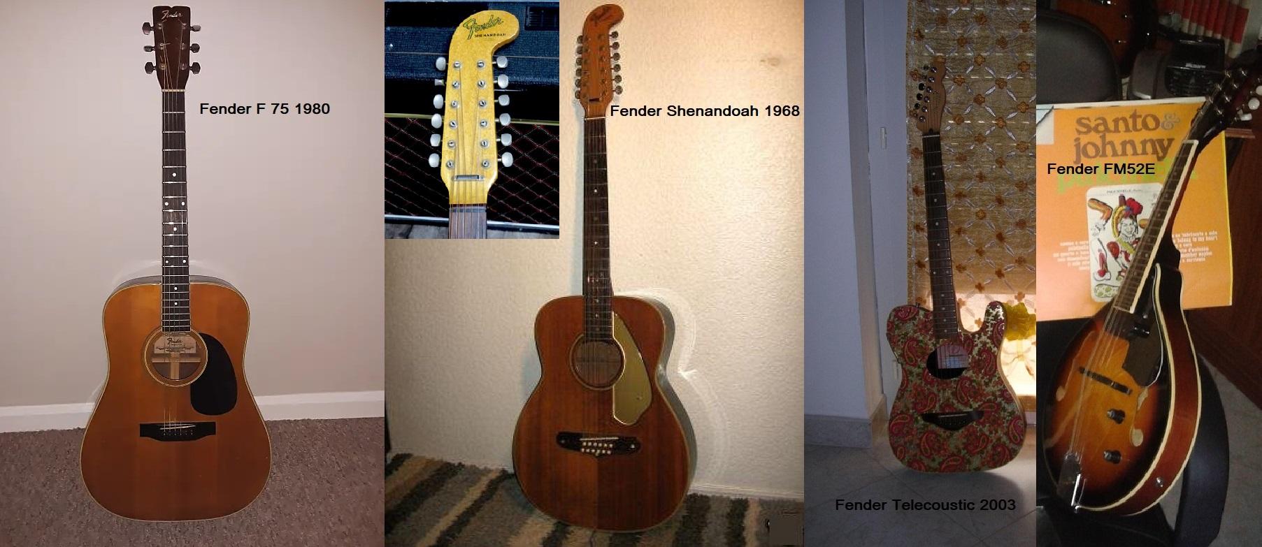 """Mia esperienza con le chitarre acustiche della Fender"""""""