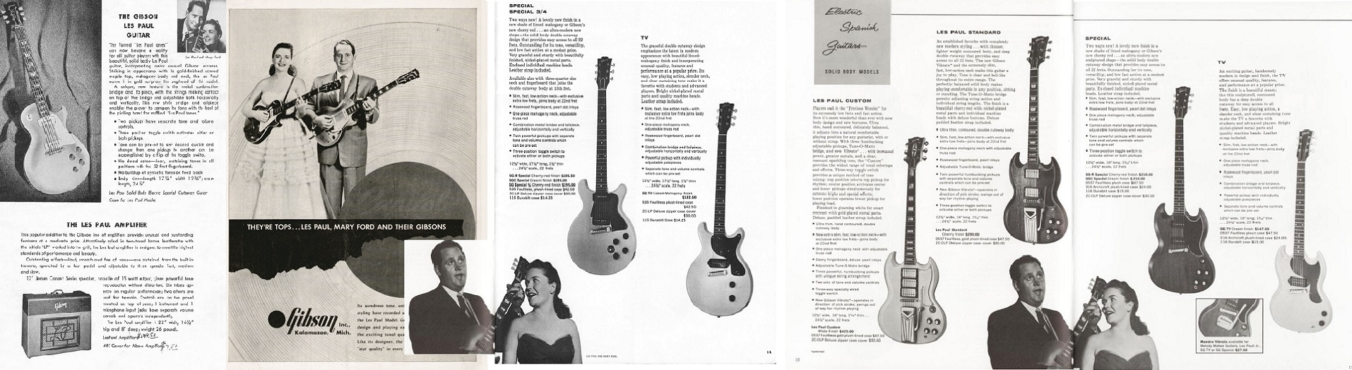 Gibson, Les Paul and Mary Ford 1952-1962!