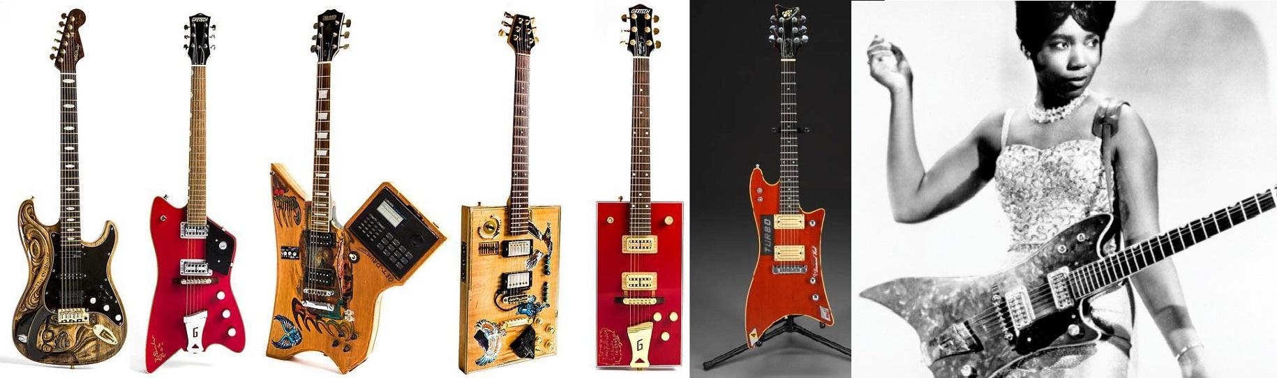 Bo Diddley e le sue strane chitarre!