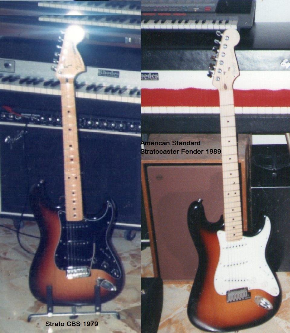 Le chitarre che ho usato prevalentemente di più da solista.