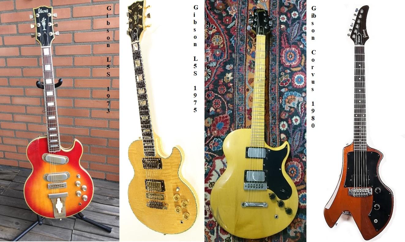 Gibson e la strana coppia L 5-S ed L 6-S, in piena era Norlin!