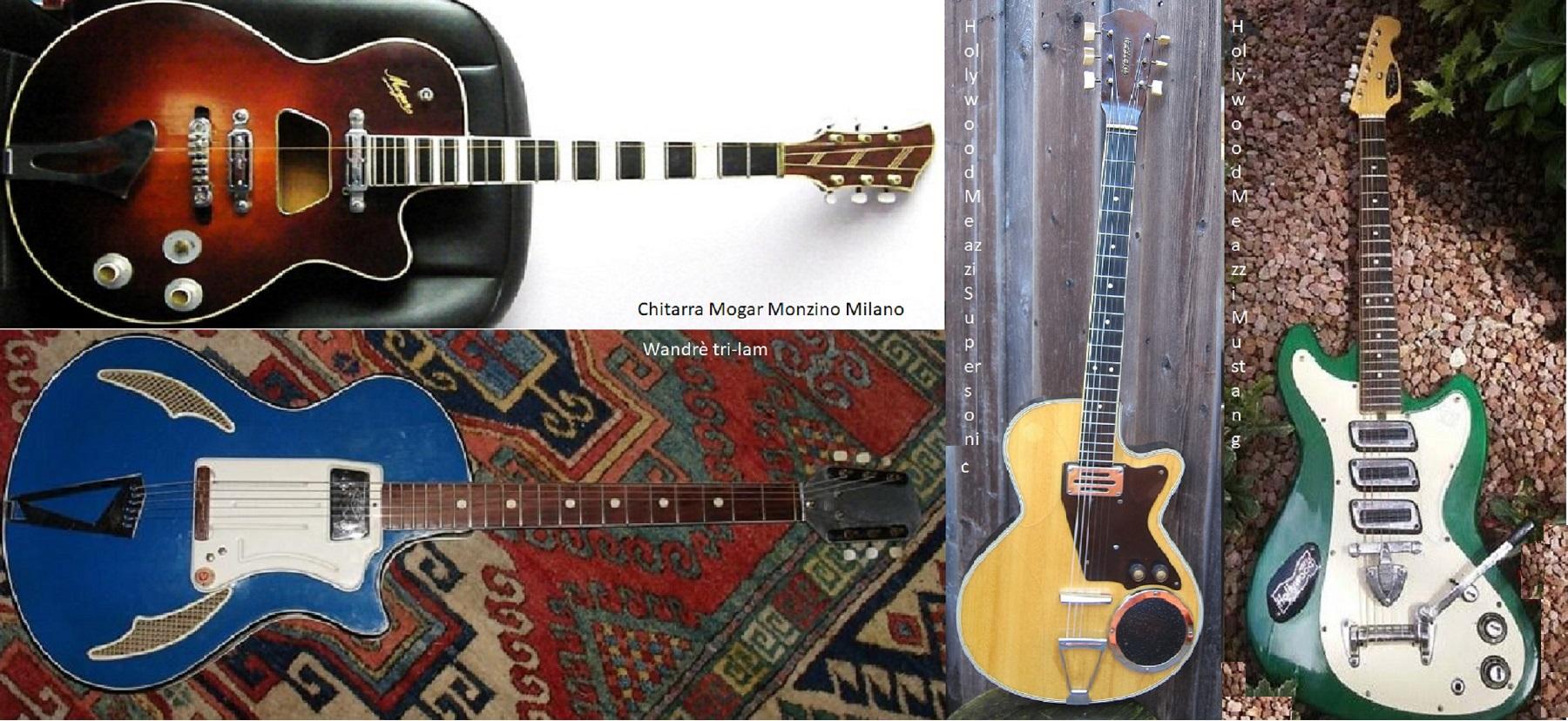 """Qualcuno ha osato chiamarle """"chitarraccie"""" ma io debbo tutto ad esse..."""