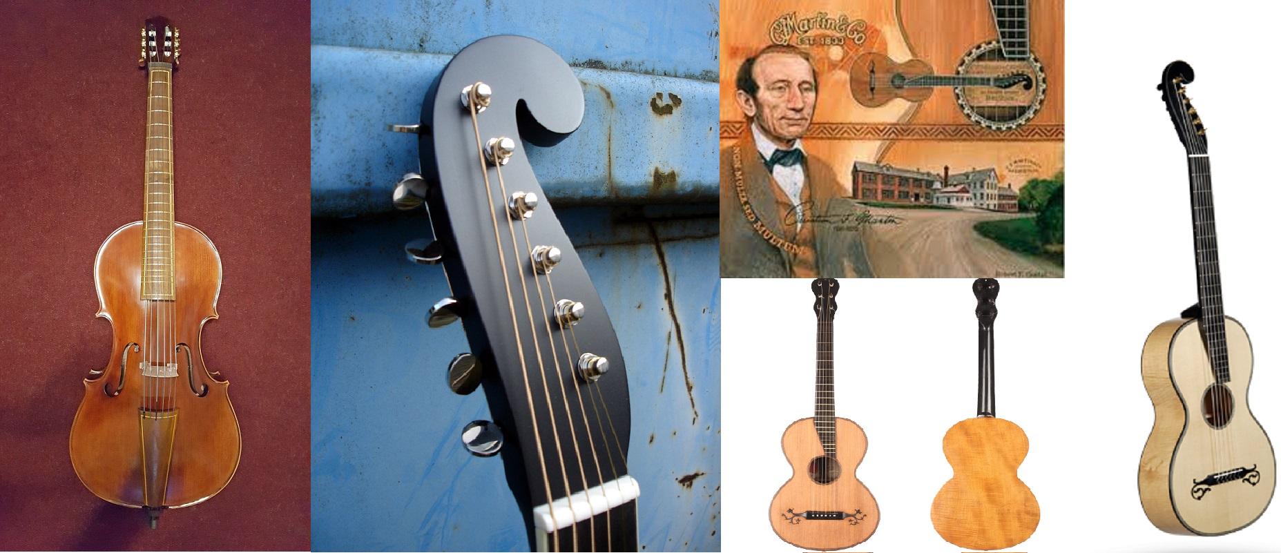 Nascita della moderna chitarra acustica.