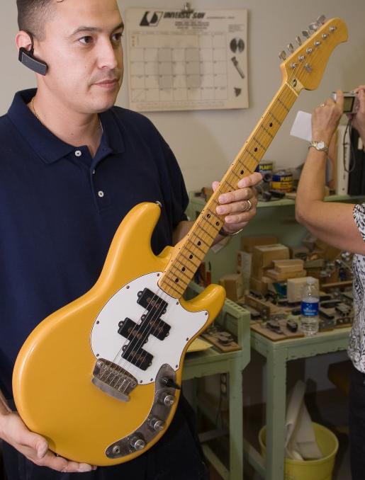 Music Man, un nome voluto da Leo Fender.