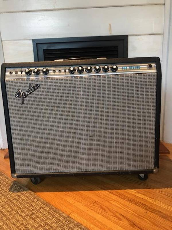Fender Pro Reverb Silver Face
