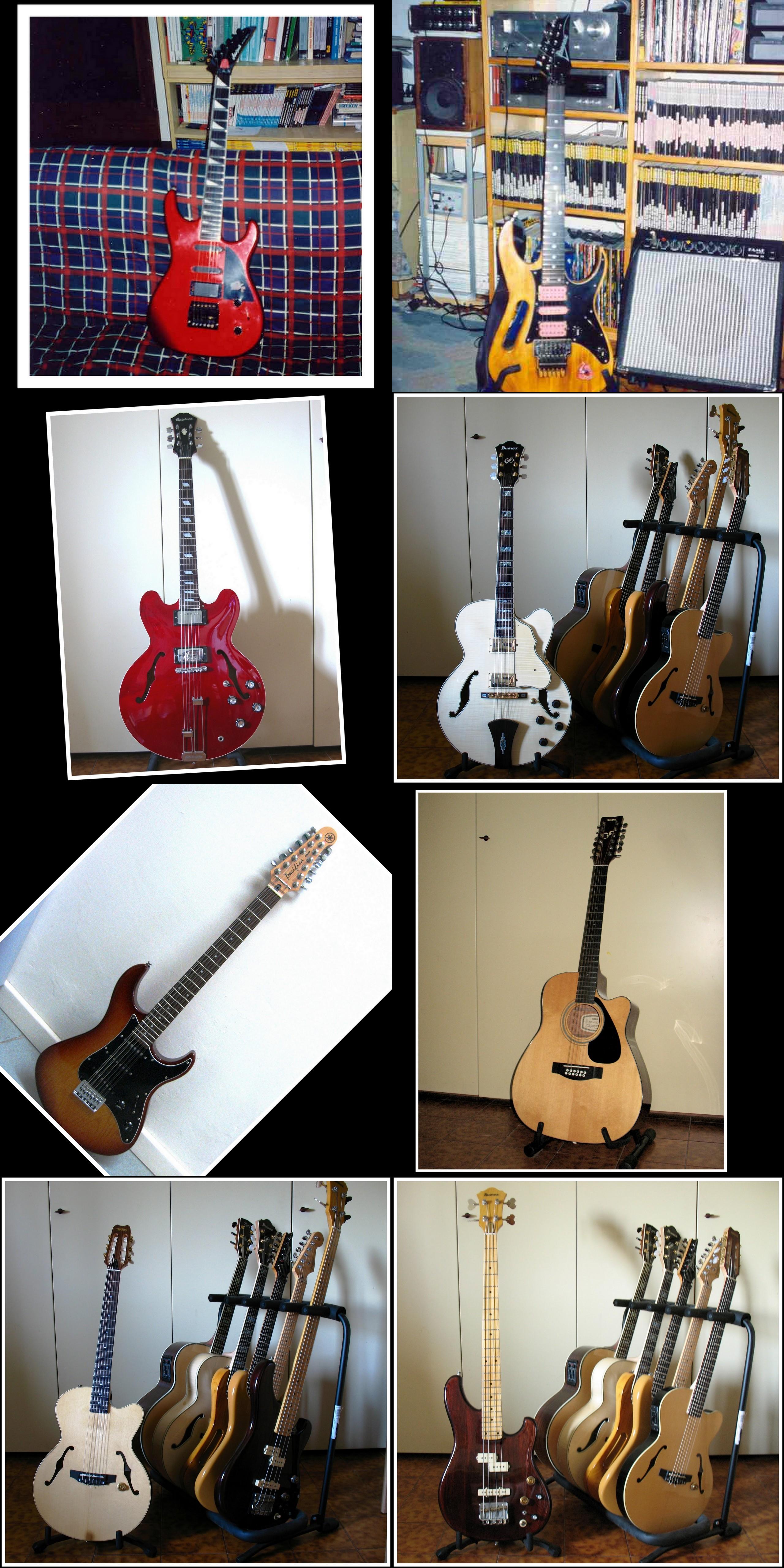 Le chitarre dalle quali mi sono separato