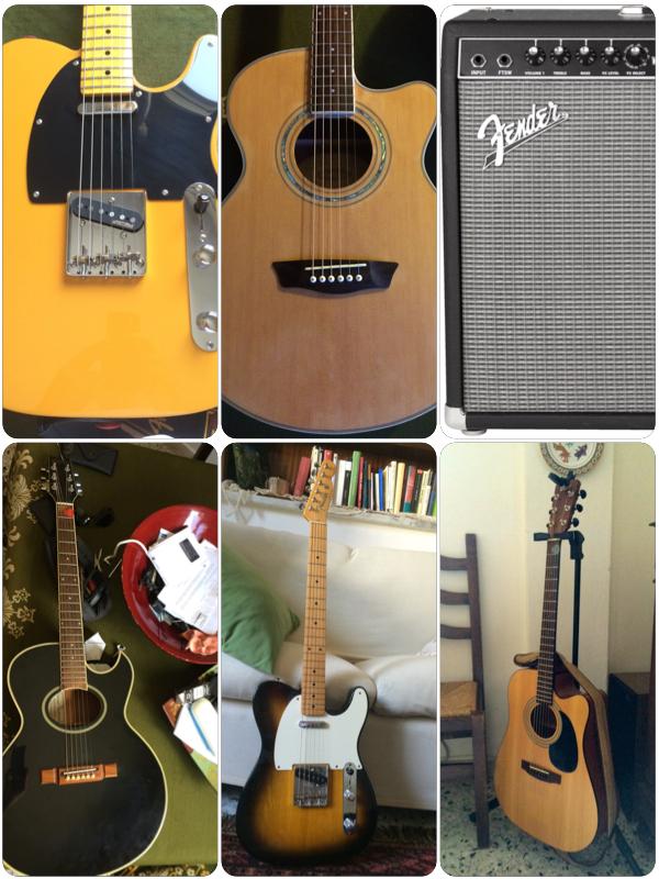 voglio suonare la chitarra! Si, ma che genere ti piace ...?