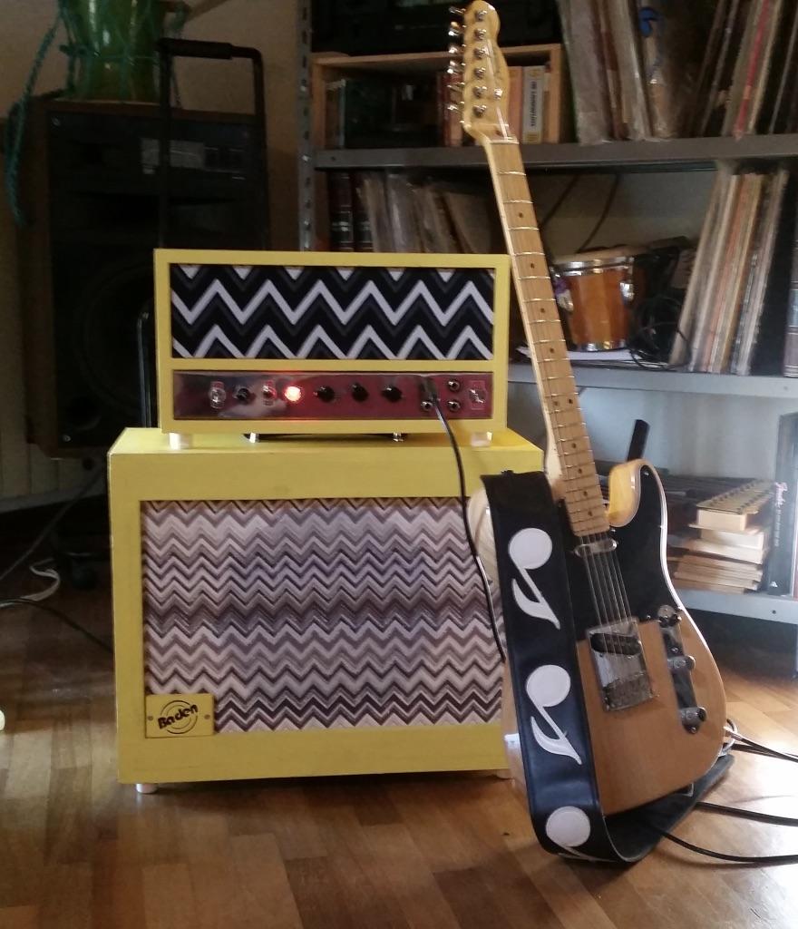 Fender 5e3 Deluxe autocostruito