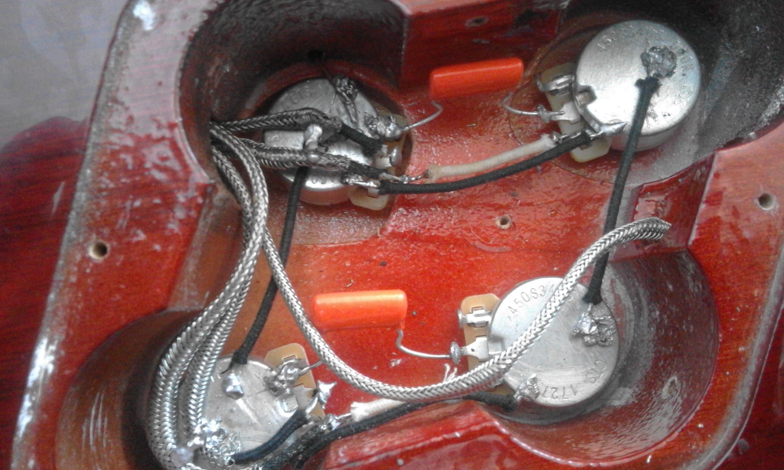 Upgrade Harley Benton 450 vintage plus (l'ennesimo)