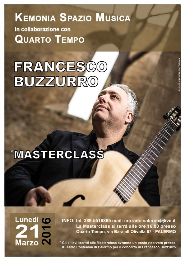 Francesco Buzzurro MasterClass - Palermo