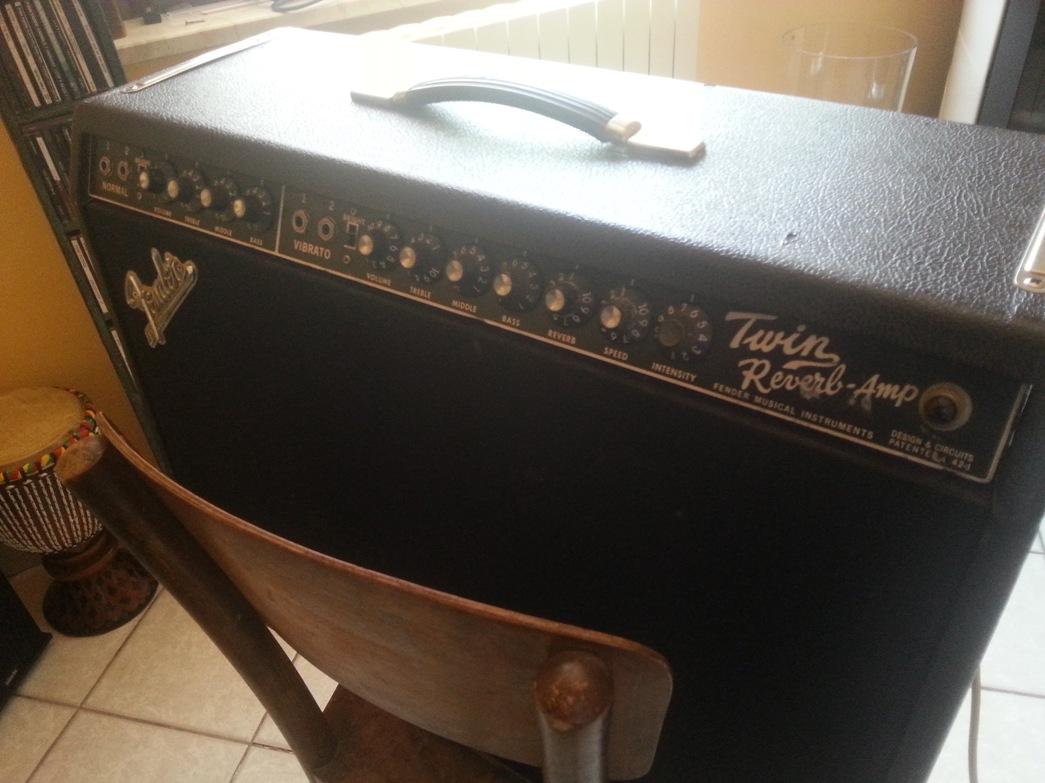 Coni per Fender Twin Reverb-Amp