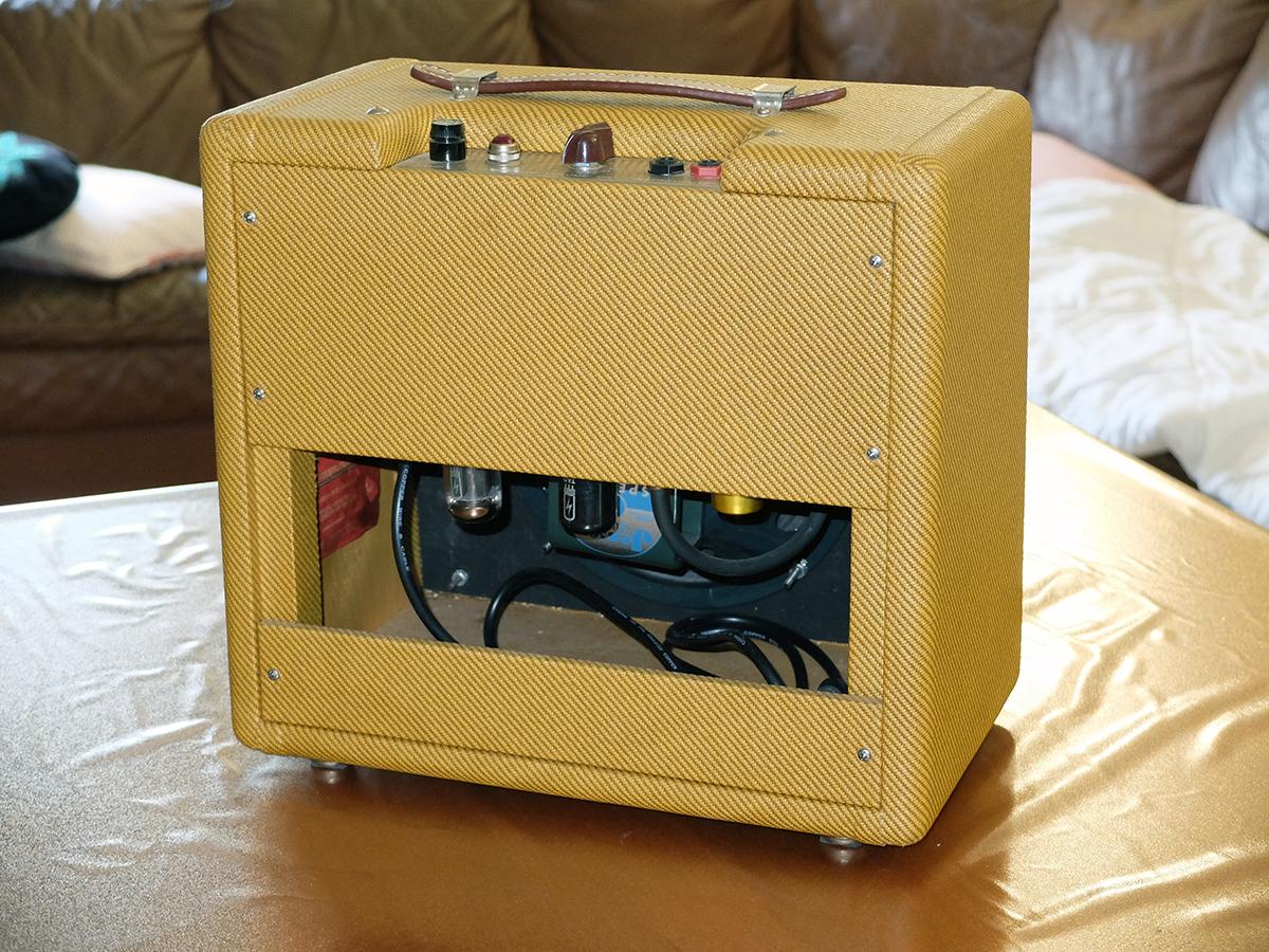 """Amplificatore 2: Fender 5F1 """"Champ"""" Autocostruito"""