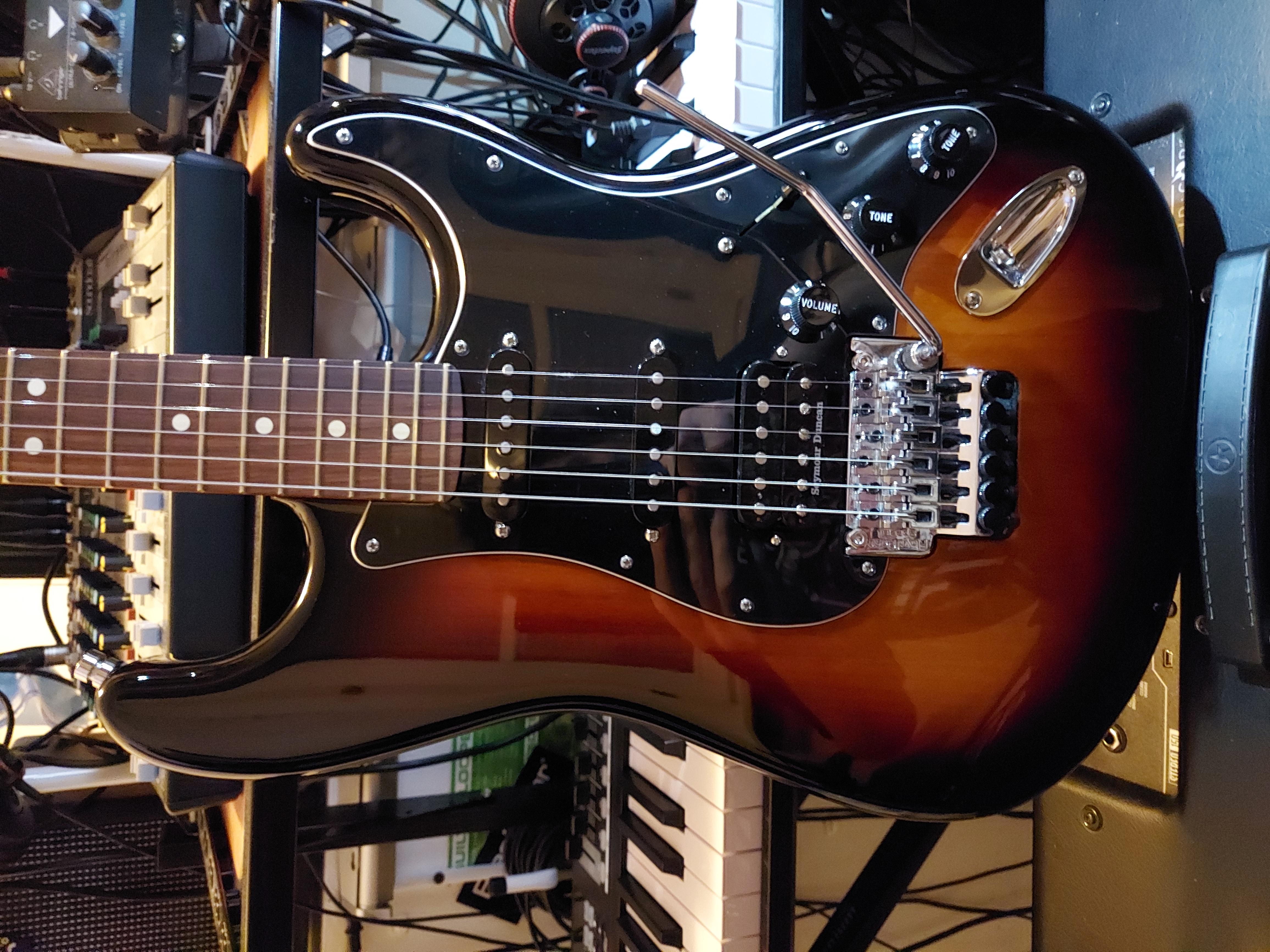 Fender Player + JB TB4 + Colori fili ... Conclusione e schema..