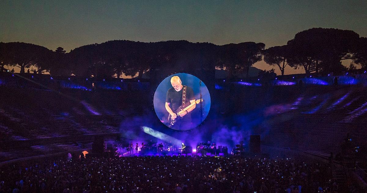 Un Gilmour di sostanza