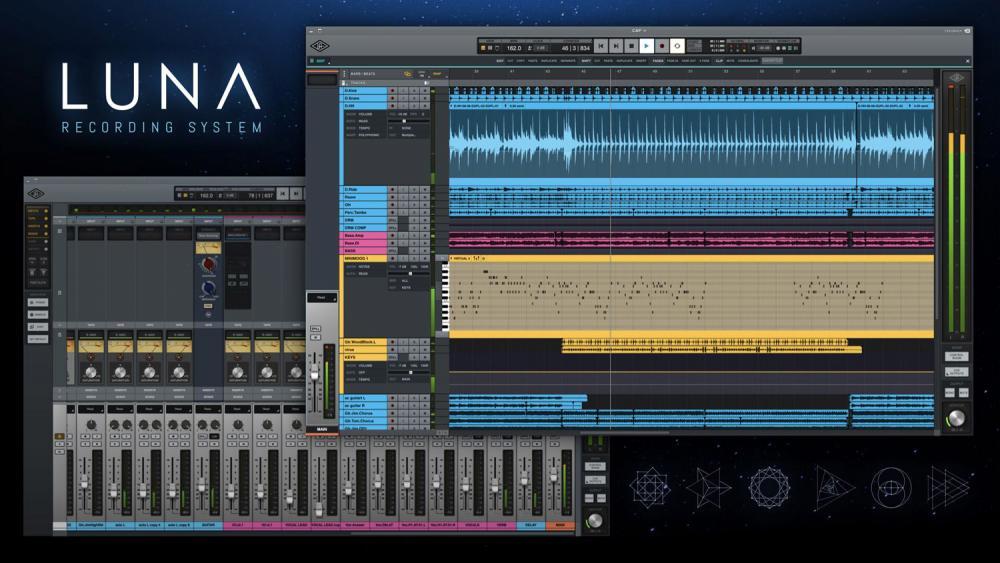 È uscito LUNA, la nuova DAW di Universal Audio