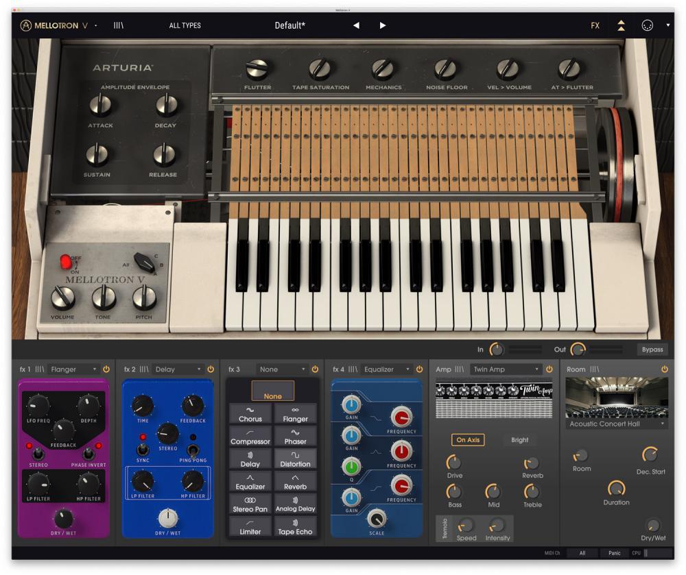 Arturia V Collection 7: la raccolta di Virtual Instruments definitiva