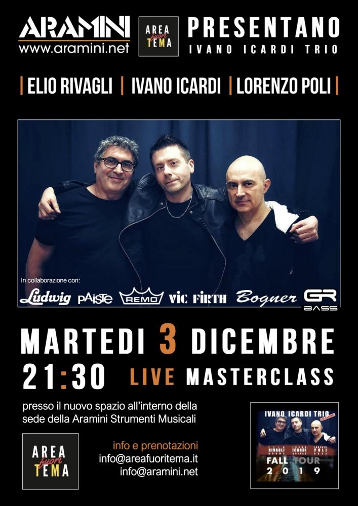 Ivano Icardi Trio live all'Area Fuori Tema