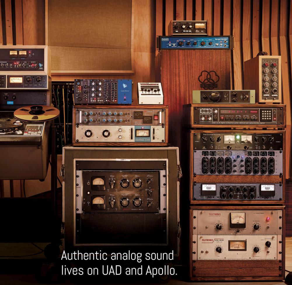 Nuova distribuzione Universal Audio per MidiWare