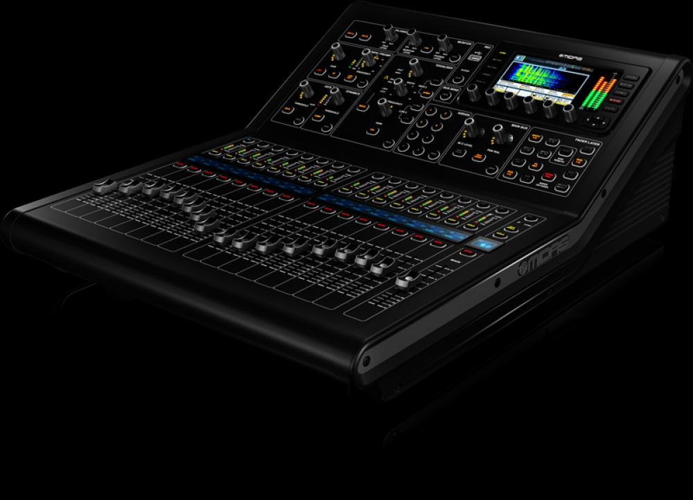 Midas M32R, il mixer digitale in studio di registrazione