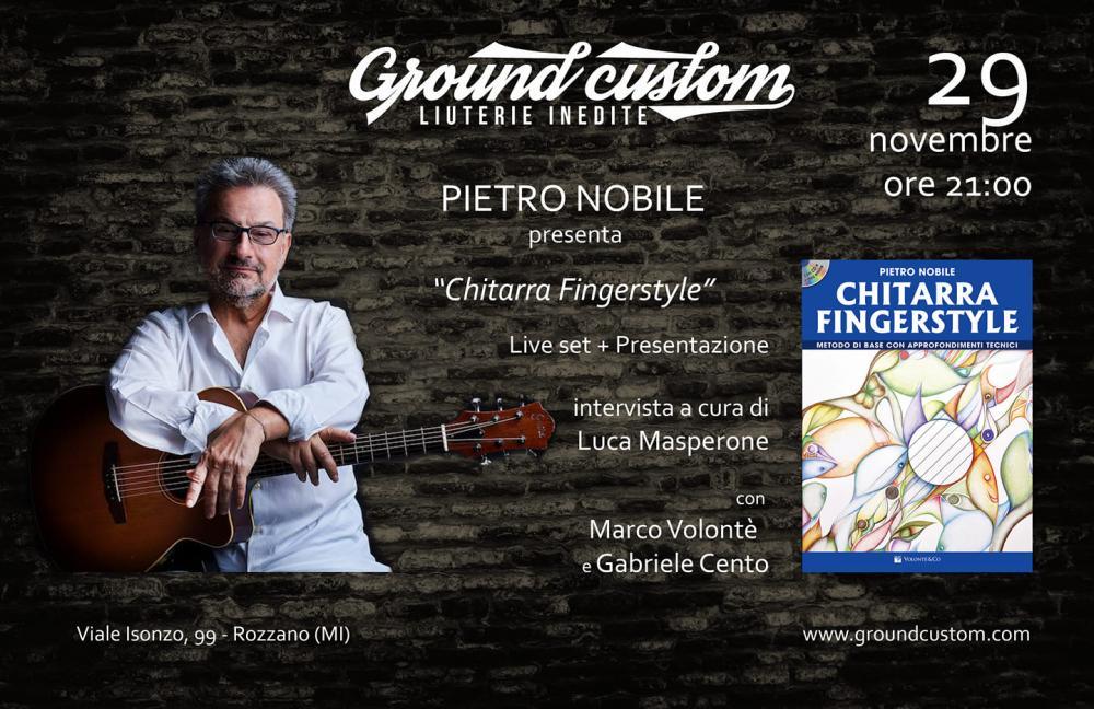 Chitarra Fingerstyle: Pietro Nobile presenta il suo nuovo libro