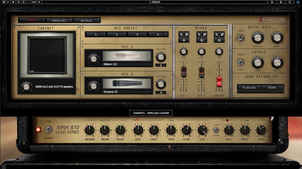 Nembrini Audio MRH810 Lead Series Guitar Amp plugin