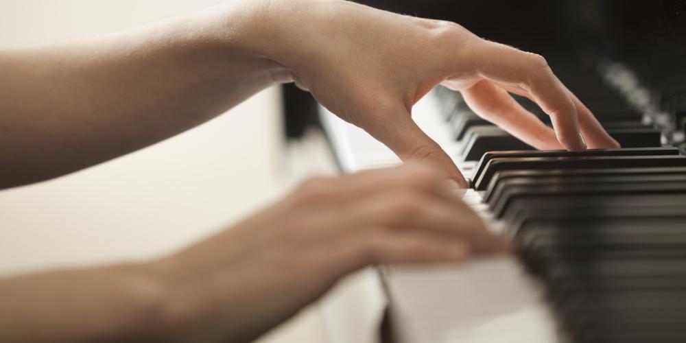 Il riscaldamento per il musicista