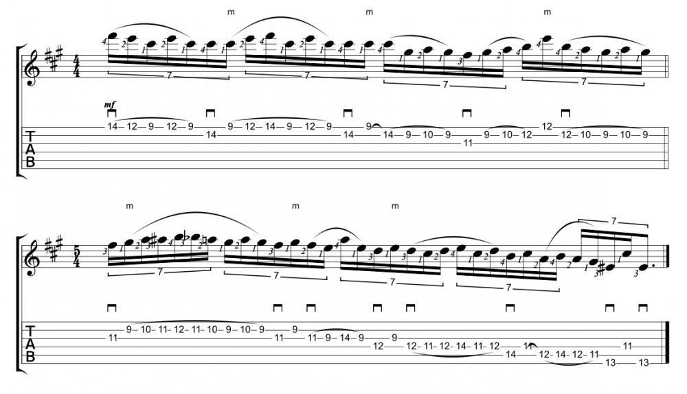 Nick Johnston: esercizi, pattern & fraseggi in legato